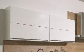 Einbauküche Lux, weiß Lack Hochglanz, inklusive Bauknecht Elektrogeräte