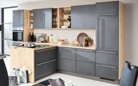 Einbauküche Stone in grauschiefer, Siemens-Geschirrspüler