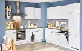 Einbauküche Flash, seidengrau, inklusive Privileg Elektrogeräte