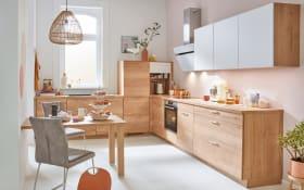 Einbauküche Structura, Eiche Sierra-Nachbildung, inklusive Privileg Elektrogeräte