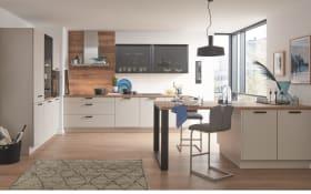 Einbauküche Touch, schiefergrau, inklusive Siemens Elektrogeräte