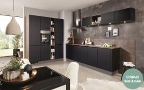 Einbauküche Touch, schwarz, inklusive Privileg Elektrogeräte