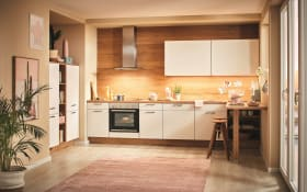 Einbauküche Speed, alpinweiß, inklusive Elektrogeräte