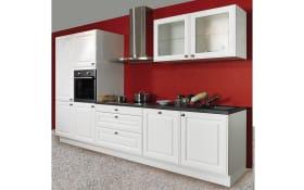 Einbauküche AV 5030, weiß, inklusive AEG Elektrogeräte
