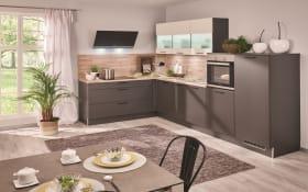 Einbauküche Uno in graphit, inklusive Neff Elektrogeräte