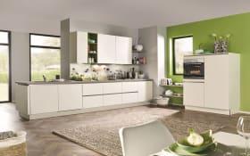 Einbauküche Laser Soft in weiß, inklusive Neff Elektrogeräte