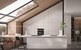 Einbauküche AV 2130, hochglanz weiß, inklusive Siemens Elektrogeräte