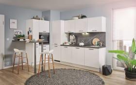 Einbauküche PN80 in weiß, inklusive Zanker Elektrogeräte