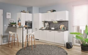 Einbauküche PN80, weiß, inklusive Elektrogeräte