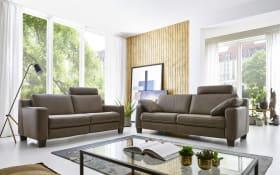 Garnitur Sofa Concept in stone, 3-Sitzer und 2,5-Sitzer mit Funktionen