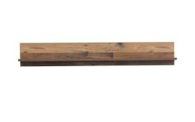 Wandregal Clif in Old Wood Vintage Nachbildung und betonfarbig, Länge ca. 120 cm