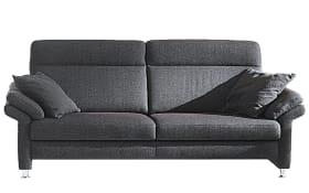 Sofa 3-sitzig TS 101 in anthrazit, inklusive Einzelsitzauszug