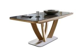 Auszugtisch 5037 in Wildeiche, mit ausziehbarer Tischplatte