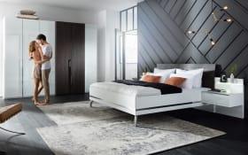 Schlafzimmer Concept Me 230/500 in weiß, Liegefläche ca. 180 x 200 cm