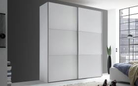 Schwebetürenschrank Lento in weiß, Breite ca. 188 cm