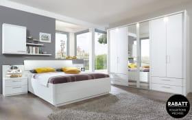 Schlafzimmer Urbino in Lack weiß