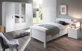 Komfortzimmer Evelyn in weiß matt, Liegefläche 120 x 200 cm