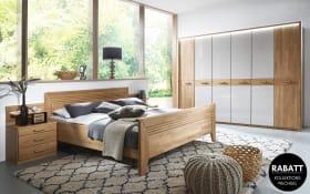 Schlafzimmer Vivien in Wildeiche natur Nachbildung/champagner