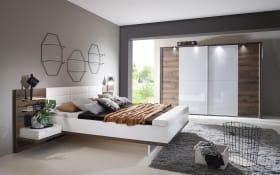 Schlafzimmer Vadora Plus in weiß/Atlantic Oak-Nachbildung