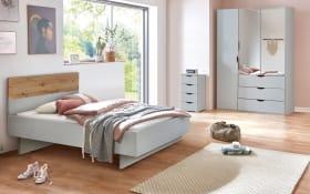 Jugendzimmer 5010 in seidengrau/Eiche Artisan-Nachbildung