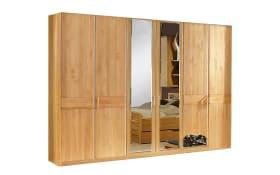 Schlafzimmer Lausanne in Erle teilmassiv, Schrankbreite ca. 300 cm