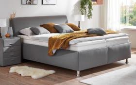 Polsterbett Comfort PB 2.0 in Sierra grau, Härtegrad 3, Liegefläche 160 x 200 cm