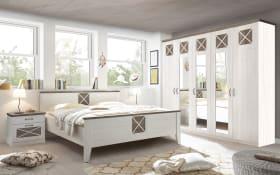 Schlafzimmer Göteborg in Anderson Pine/Anderson Pine Trüffel, Liegefläche 180 x 200 cm
