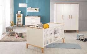 Babyzimmer Pauline in Artisan Eiche Nachbildung/weiß