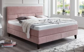 Boxspringbett 4047 in flamingo