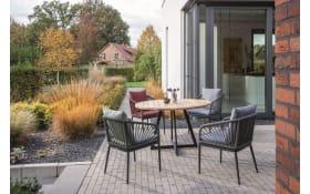 Gartenstuhlgruppe Pino/Milan in anthrazit