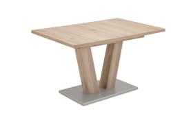 Schiebeplattentisch 3613 in San Remo-Nachbildung, mit ausziehbarer Tischplatte