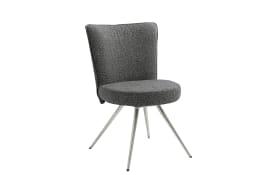 Stuhl Leva in schwarz