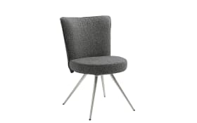 Stuhl Leva in schwarz, inklusive Drehfunktion