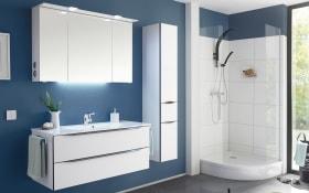 Badeinrichtung Brüssel in weiß matt Select