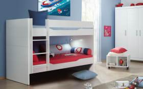 Etagen-Doppelbett Fiona in kreideweiß