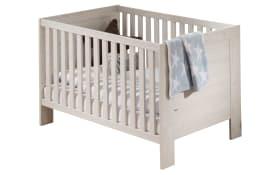 Kinderbett für Babyzimmer Laslo in Nordic Wood-Nachbildung