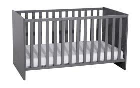 Kinderbett 5006 in schiefergrau, Liegefläche ca. 70 x 140 cm
