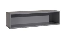 Wandregal 5006 in schiefergrau, ca. 90 cm breit