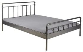 Doppelbett Stina aus Metall, Liegefläche ca. 140 x 200 cm