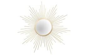 Metallspiegel Sun in goldfarbig, 60 cm