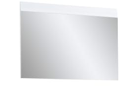 Spiegel Adana in weiß Hochglanz, 89 x 63 cm