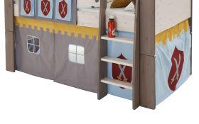 Vorhang-Set Steens for Kids Motiv Ritter