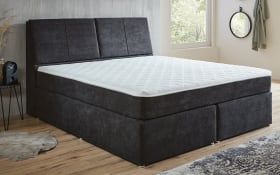 Boxspringbett BX1870 Melrose in grau