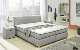 Boxspringbett Wendy in grau