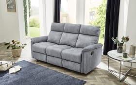 Sofa Amrum 3 in Vintage hellgrau, mit Liegefunktion