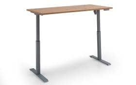 E-Schreibtisch-Set 7005 in Artisan Nachbildung, höhenverstellbar