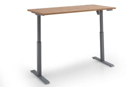 Schreibtisch-Set 7005 in Artisan Nachbildung, höhenverstellbar