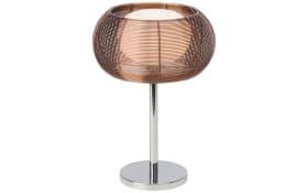 Tischleuchte Relax in bronze/chrom, 39 cm