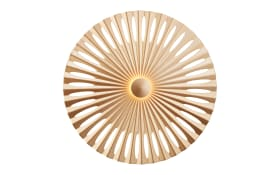 LED-Wandleuchte Phinx in goldfarbig