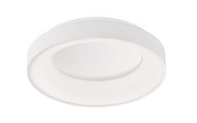 LED-Deckenleuchte Shay mit Backlight in weiß, 45 cm